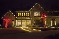 Christmas Rope Light Design Ideas Outdoor Christmas Lights Ideas For The Roof