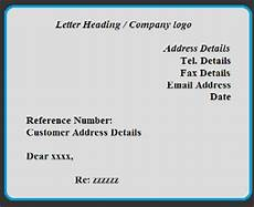 Free Letter Heading Free Letter Format Examples And Samples