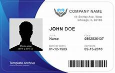 Pvc Id Card Template 16 Id Badge Amp Id Card Templates Free Templatearchive