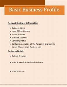 Company Profile Format In Word Free Download 8 Business Profile Templates Word Excel Amp Pdf Templates