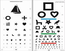Eye Test Chart For Toddlers Children And Opt Alphabet Systems Vcd 211 Pinterest