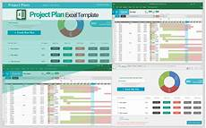 Project Planning Excel Sheet Project Plan Template Single Project