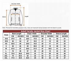 Coat Jacket Size Chart Hoodie Printing Singapore Varsity Jacket Cheap