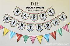 Free Happy Birthday Banner Printables Printables Amp Freebies Posh Tart Free Printable Happy
