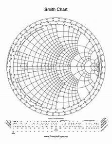 Smith Chart Graph Paper Printable Smith Chart