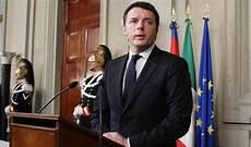 presidente consiglio dei ministri matteo renzi partenza frenata dal presidente napolitano