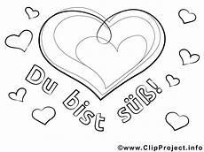 Malvorlagen Herz Herz Bild Malvorlage Zum Ausmalen