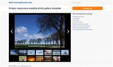 Gallery Template Photo Gallery Template