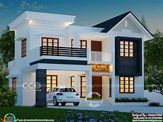4 Bhk House Design Plans 4 Bhk 1763 Square Feet Modern House Plan Kerala Home
