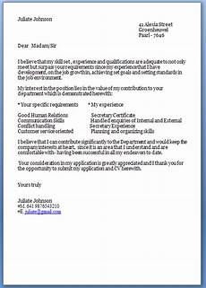 Cover Letter Template Examples Job Cover Letter Template