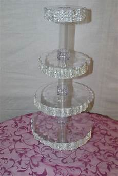 diy crystal cupcake stand project wedding