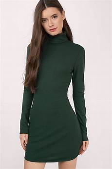 black bodycon dress turtleneck dress bodycon