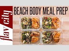 Beach Body Meal Prep   Tasty Weight Loss Recipes With