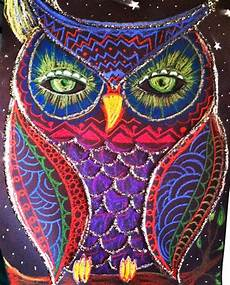 Colorful Owl Art Jackson S Art Room Colorful Owl Pastel Drawings
