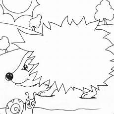 hedgehog coloring pages kidsuki