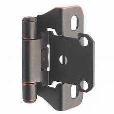 self closing partial wrap cabinet hinge 1 4 quot overlay