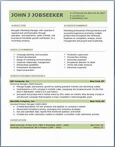 Re Sumes 7 Samples Of Professional Resumes Sample Resumes