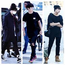 here are bts jungkook s best style choices from airport