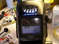 Led Lights For Welding Helmet Welding Helmet Light Youtube
