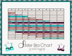 Sister Size Chart Your Correct Sister Bra Size By Barbie S Beauty Bits Bra