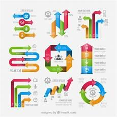Infographic Arrow Arrows Infographic Elements Free Vector