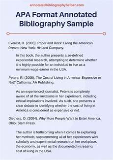 What Is Apa Style Annotated Bibliography Template Apa Bibliography