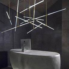 Light Tubes For Ceilings Image Result For Hanging Tubular Lights Gold Ceiling Light