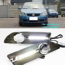 Volkswagen Polo Fog Lights Original Fog Light Size Replace To Daylight Drl For 2006