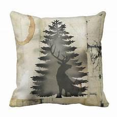 Farmhouse Sofa Pillows 3d Image by 3d Rustic Coffee Circle Deer Throw Pillow Diy Cyo