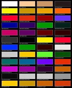 Metallic Car Paint Color Chart Auto Air Colors Color Chart Page 1 Car Painting Car