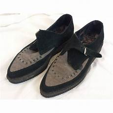 Underground Creepers Size Chart Underground Pointed Suede Creepers Black Amp Grey Size 7