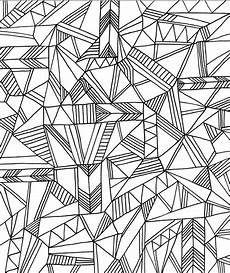 Coloring Geometric Pages Get This Printable Geometric Coloring Pages For Adults