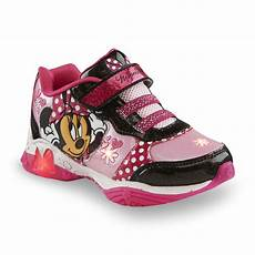 Minnie Mouse Shoes With Lights Pink Minnie Mouse Sneaker Minnie S Bowtique Shoe