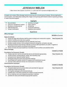 Administrative Skills Examples 16 Amazing Admin Resume Examples Livecareer