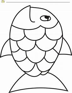 free rainbow fish template pdf 2 page s page 2