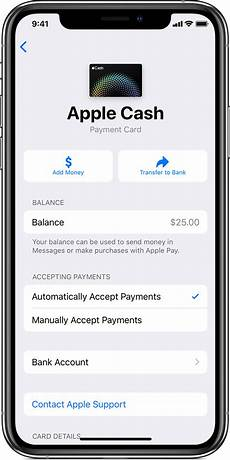 apple account support manage your apple cash account apple support