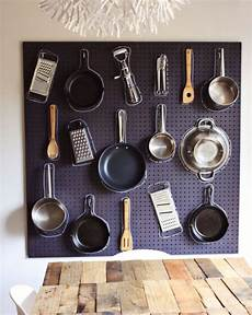 kitchen pegboard ideas 40 clever storage ideas for a small kitchen