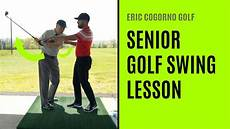 swing lessons golf senior golf swing lesson