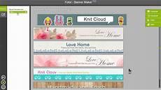 Online Free Banner Maker Fotor Banner Maker Tutorial Youtube