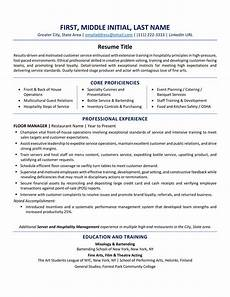 Resume Style Format Usa Resume Format Best Tips And Examples Updated