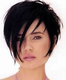 freche kurzhaarfrisuren rundes gesicht damen haircuts for thin hair ideas for 2018