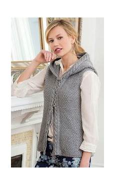 only the best knitted vests for allfreeknitting