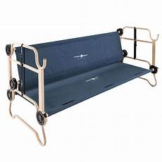 disc o bed large o bunk cot with organizers youth