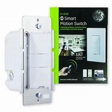 Wireless Motion Light Switch Ge Z Wave Plus Wireless Smart Lighting Control Motion