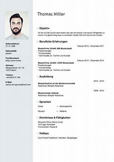 Lebenslauf Sample Curriculum Vitae Resume Template Sample German Austria