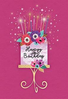 Cards Of Happy Birthday Sparkle Celebration Free Birthday Card Greetings Island