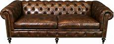 Top Grain Sofa Png Image by New Leather Chesterfield Sofa Wood Brown Top Grain Leather