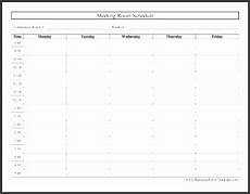 Conference Room Schedule Template 8 Meeting Schedule Template Sampletemplatess