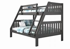 lila modern grey bunk bed with trundle 床