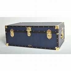 Mossman Original King Trunk Storage Box Chest Steamer by Mossman Navy Blue Steamer Trunk 163 142 Steamer Trunk